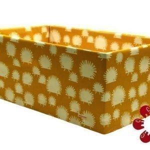 Äitiyspakkauslaatikon suojus Keltainen siili