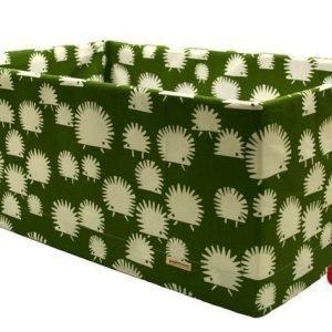 Äitiyspakkauslaatikon suojus Vihreä siili