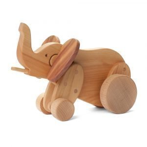 Ørskov Elephant Large Puulelu