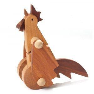 Ørskov Rooster Large Puulelu