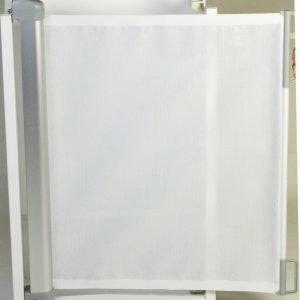 2ME Flexigate Portti Valkoinen harmaalla kiinnikkeellä