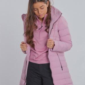 8848 Altitude Velvet Jr Coat Takki Vaaleanpunainen