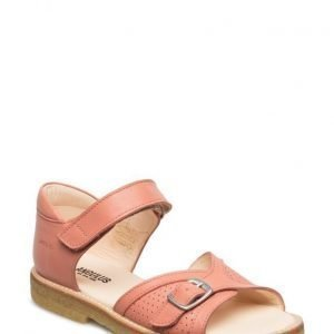 ANGULUS Sandal W. Buckle Detail And Velcro Closure