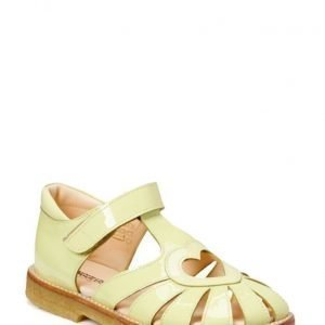 ANGULUS Sandal With Heart Detail