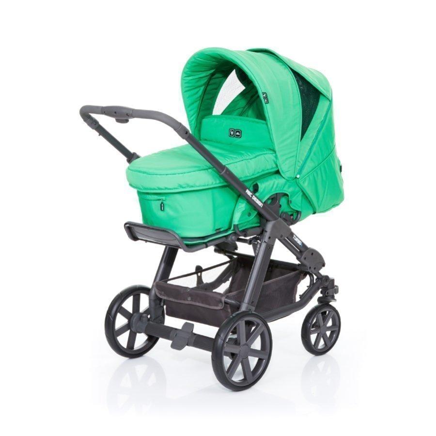 Abc Design Turbo 4 Fashion Yhdistelmävaunut + Kantokoppa Grass
