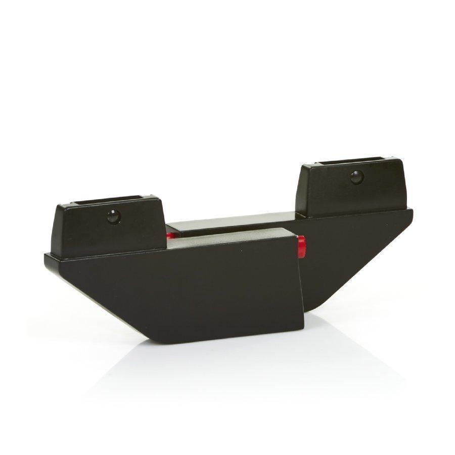 Abc Design Zoom Adapteri Toiseen Vaunukoppaan Musta
