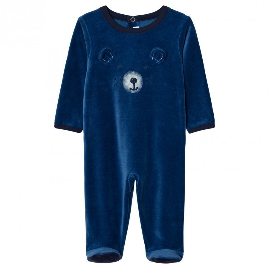 Absorba Blue Bear Footed Baby Body