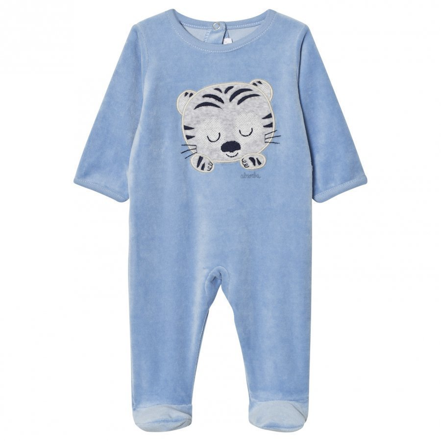 Absorba Blue Tiger Footed Baby Body