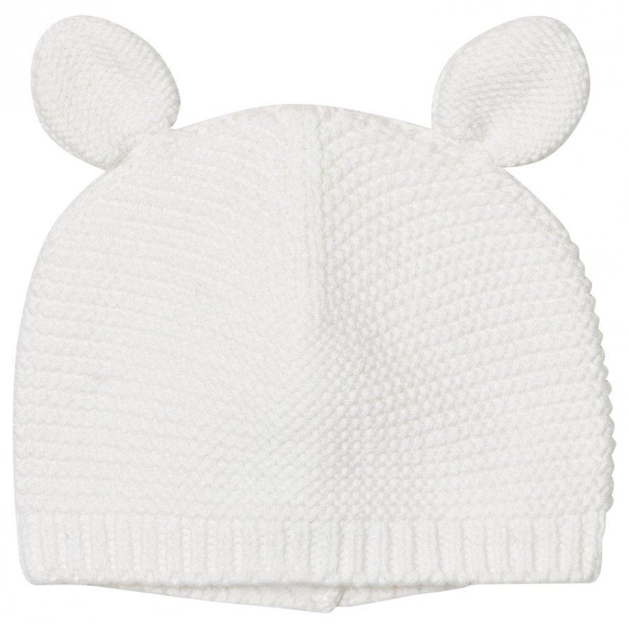 Absorba Cream Knit Eared Hat Pipo