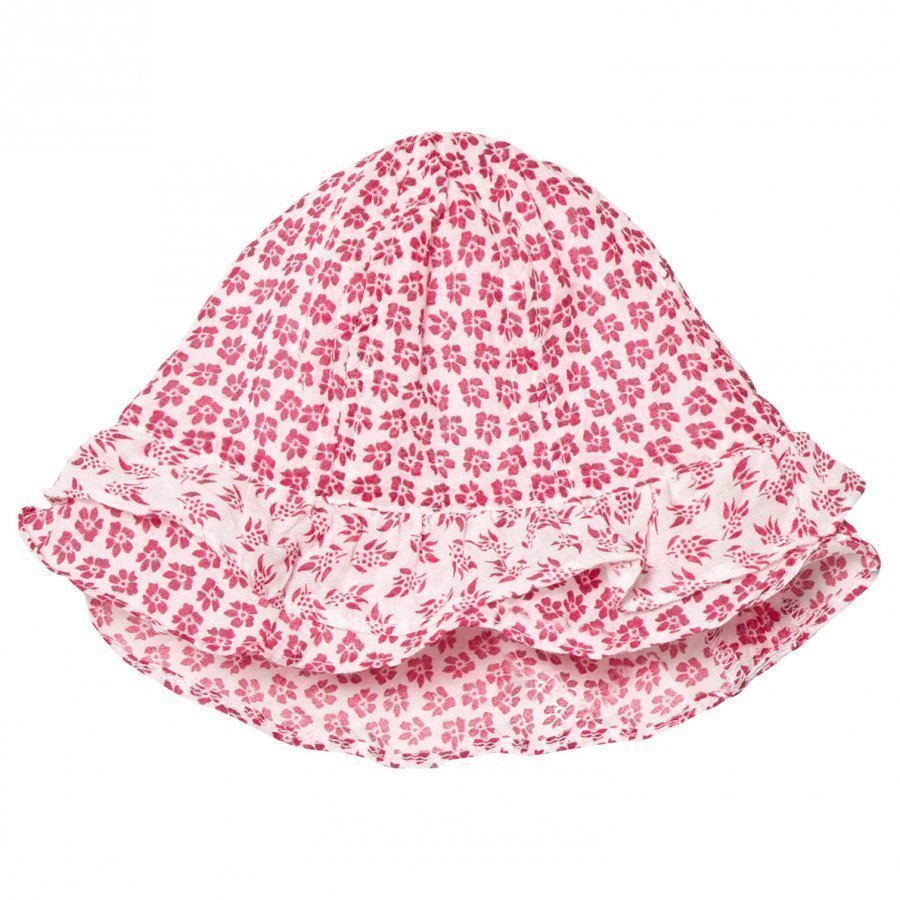 Absorba Fuchsia Floral Printed Hat Aurinkohattu