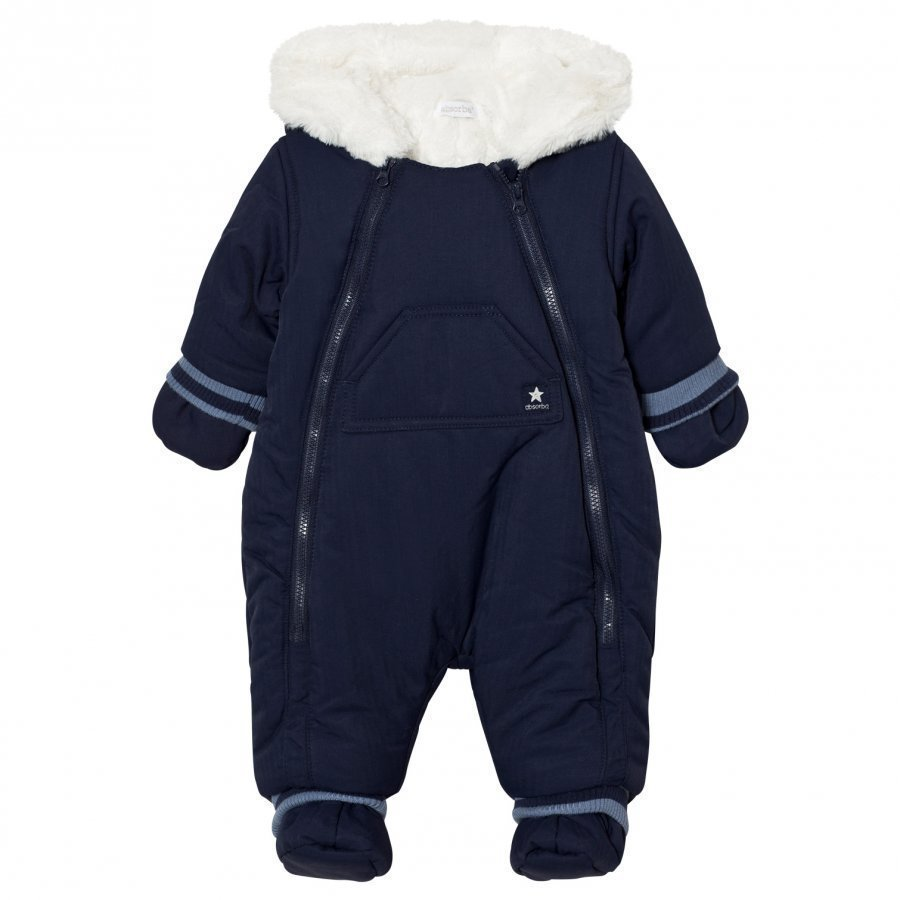 Absorba Lined Snowsuit Navy Toppahaalari