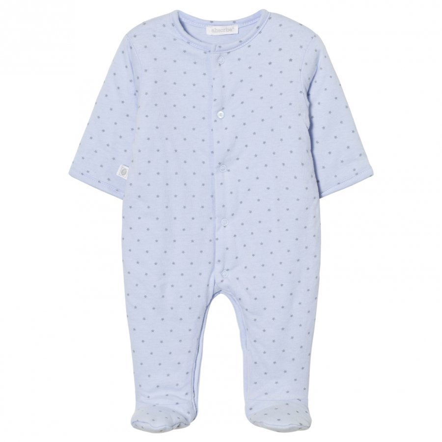 Absorba Padded Footed Baby Body Pale Blue Body