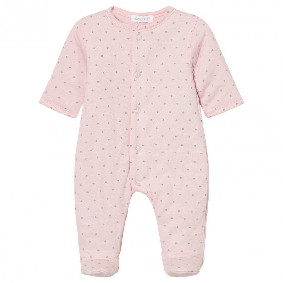 Absorba Padded Footed Baby Body Pink Body