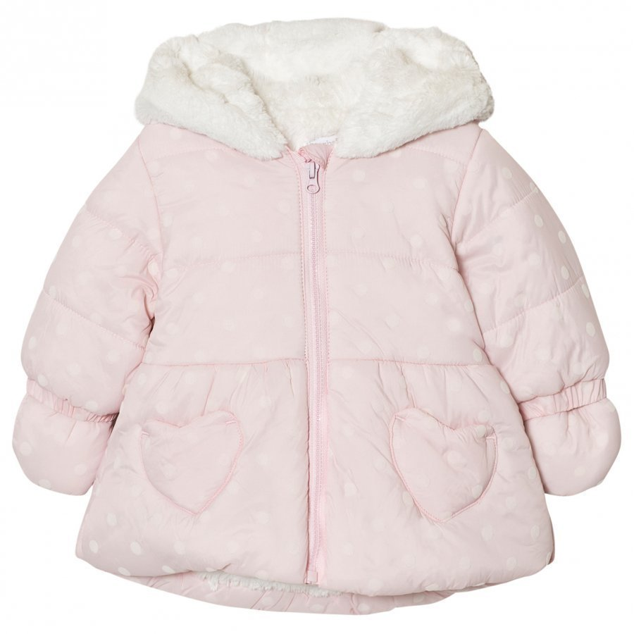 Absorba Pale Pink Padded Coat Talvitakki