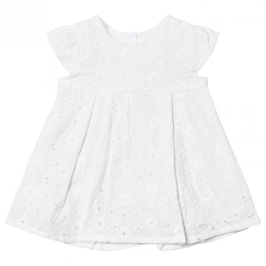 Absorba White Broderie Anglaise Dress Juhlamekko