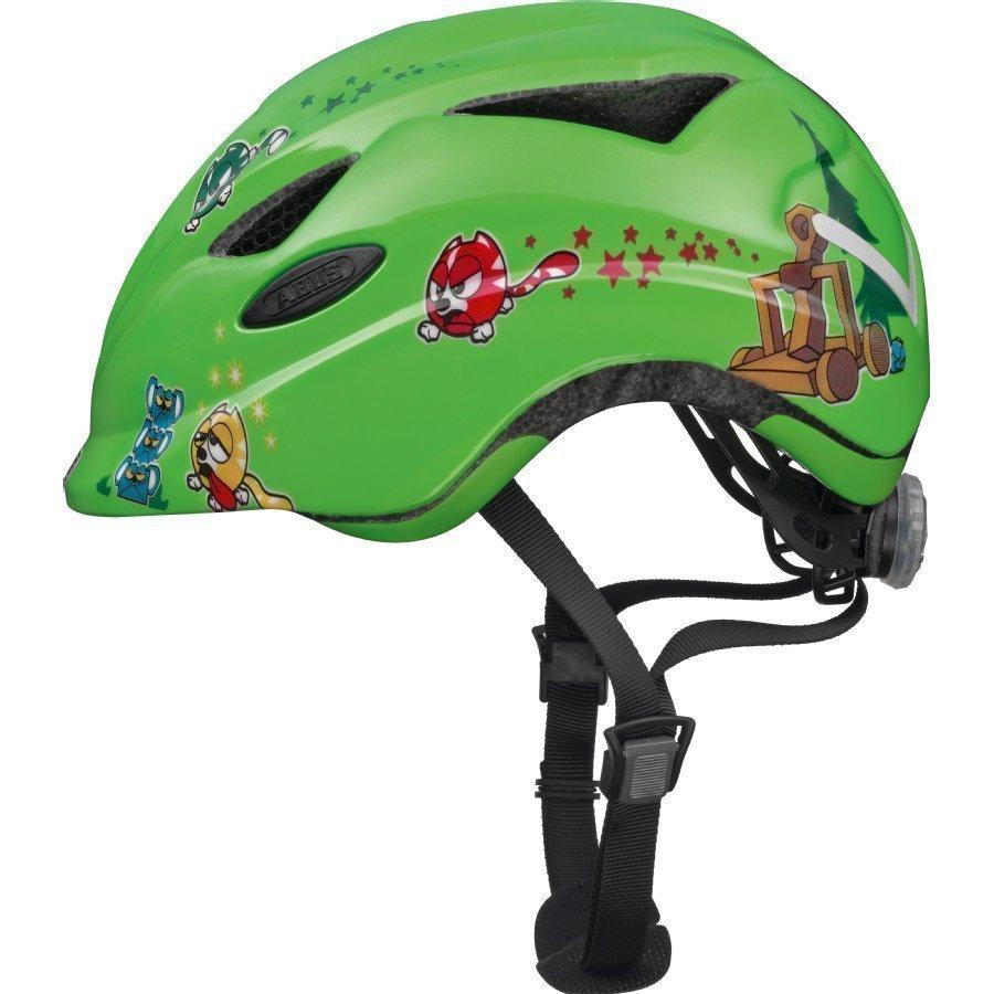 Abus Anuky Lasten Pyöräilykypärä M Green Catapult