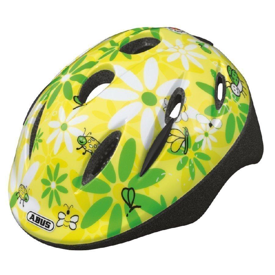 Abus Bundle Smooty Lasten Pyöräilykypärä S + Sadesuoja Beetle Sun