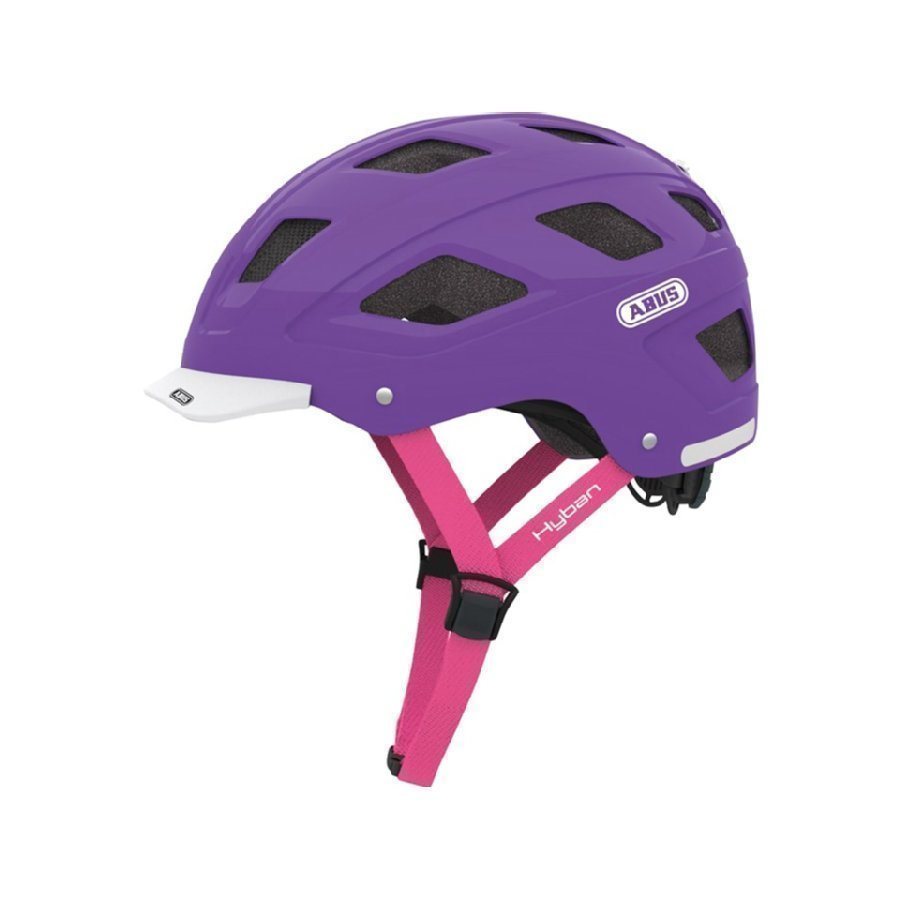 Abus Hyban Pyöräilykypärä M Brilliant Purple