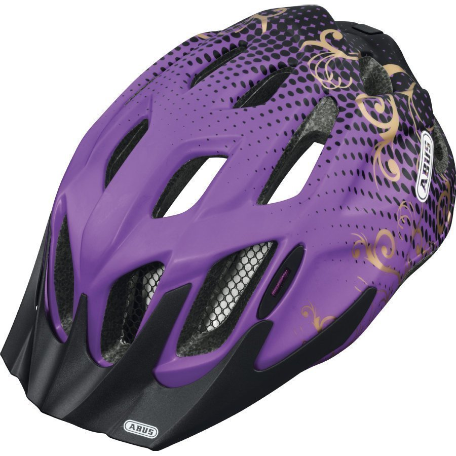 Abus Mountx Lasten Pyöräilykypärä S Maori Purple