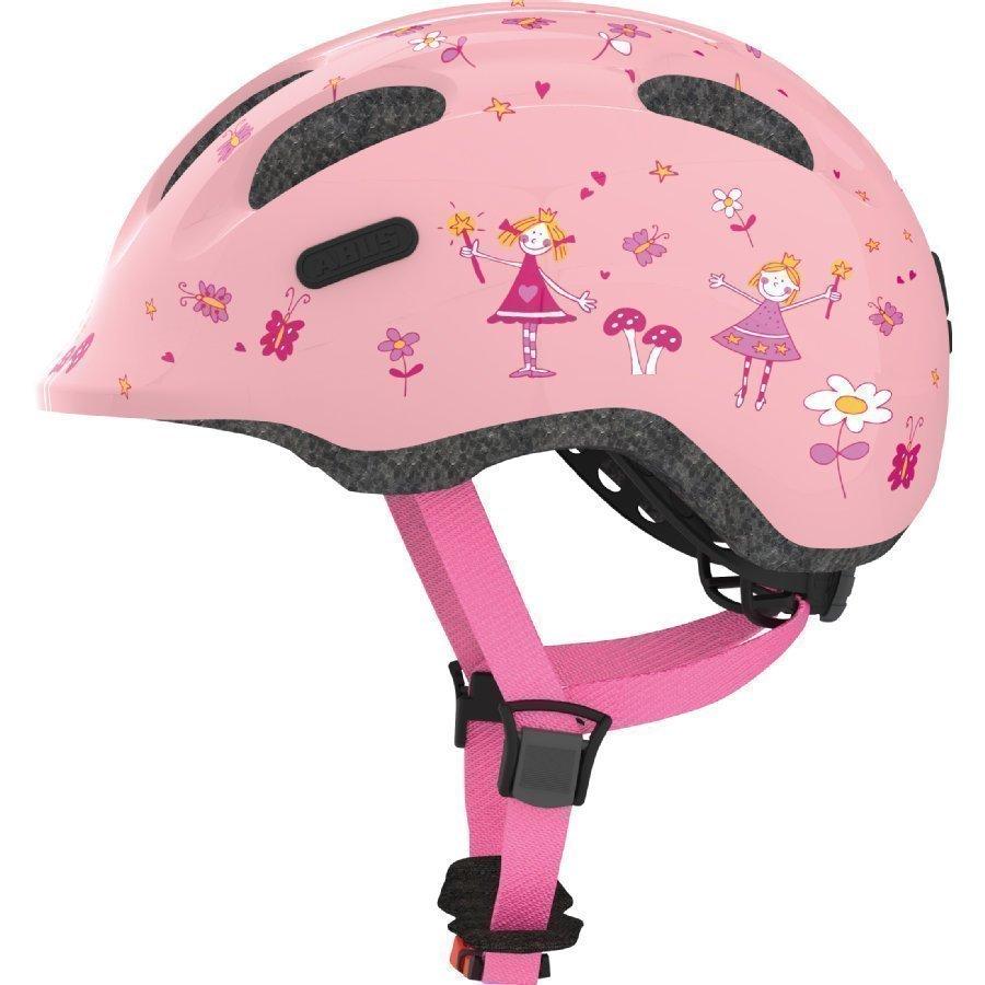 Abus Smiley 2.0 Lasten Pyöräilykypärä Rose Princess