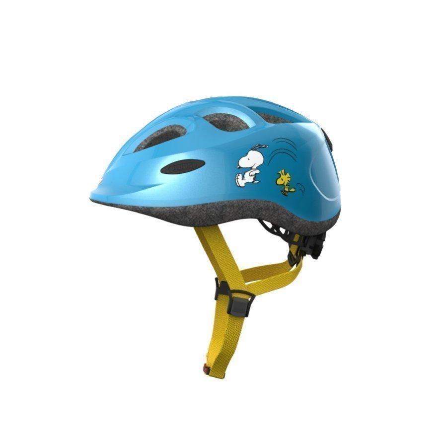 Abus Smiley Lasten Pyöräilykypärä Peanuts Sporty Blue