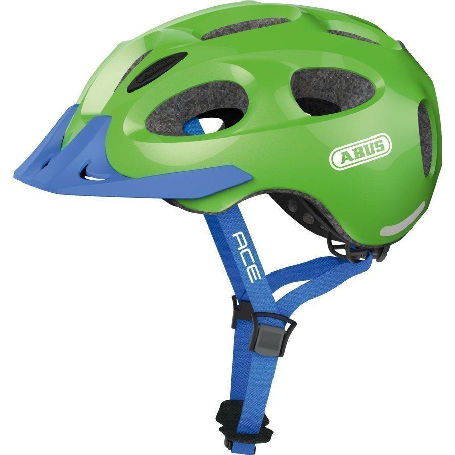 Abus Youn L Ace Lasten Pyöräilykypärä Sparkling Green
