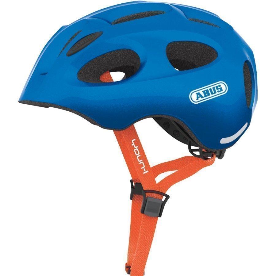 Abus Youn L Lasten Pyöräilykypärä Sparkling Blue