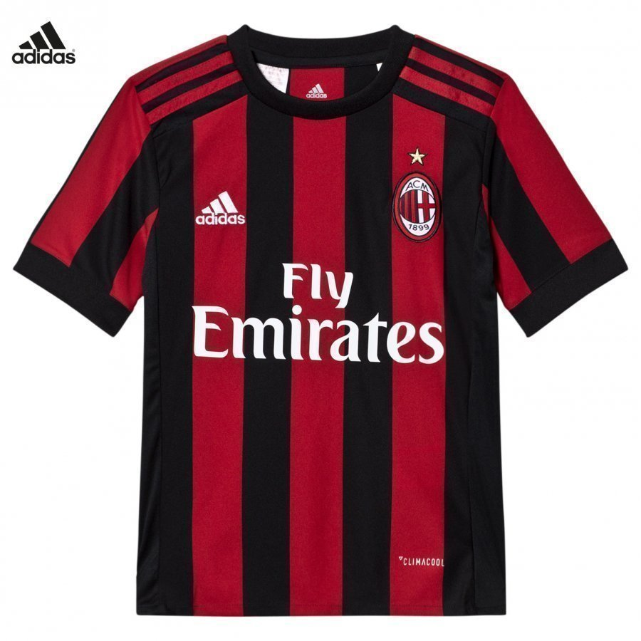 Ac Milan ´17 Junior Home Shirt Jalkapallopaita