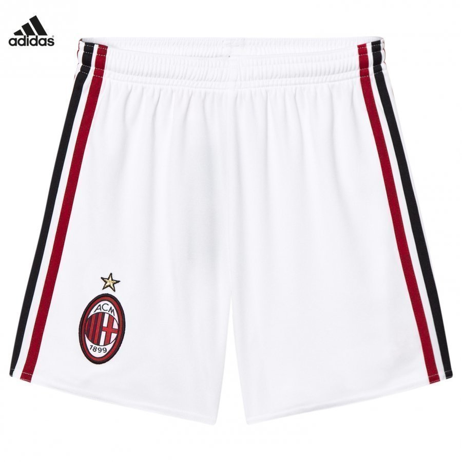 Ac Milan ´17 Junior Home Shorts Jalkapalloshortsit