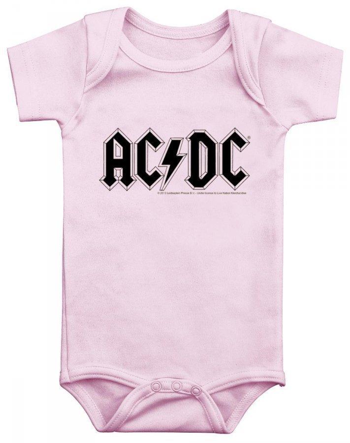 Ac/Dc Pink Logo Body