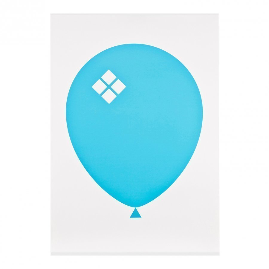Acne Jr Balloon Ilmapallo Juliste Sininen Juliste