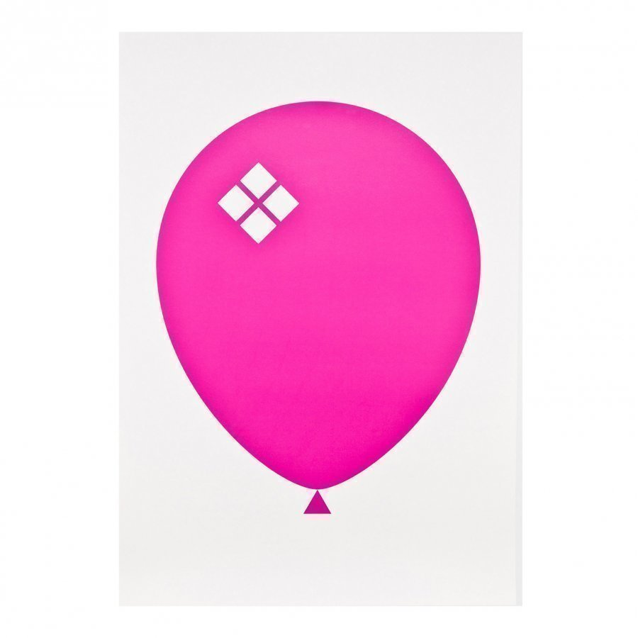 Acne Jr Balloon Ilmapallo Juliste Vaaleanpuneinen Juliste