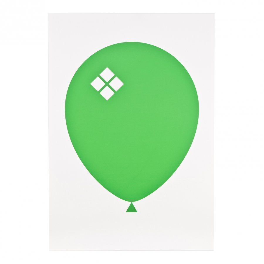Acne Jr Balloon Ilmapallo Juliste Vihreä Juliste