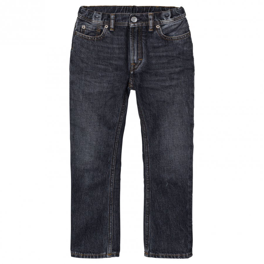 Acne Studios Bear Washed-Style Black Jeans Farkut