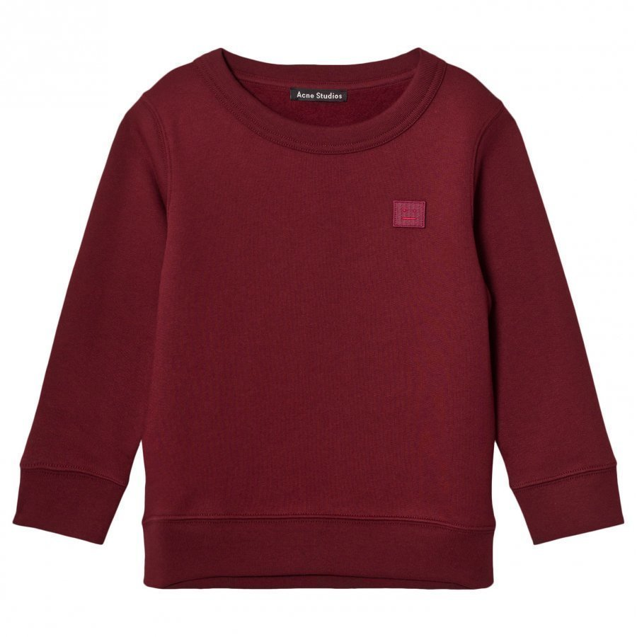 Acne Studios Mini Fairview Burgundy Oloasun Paita