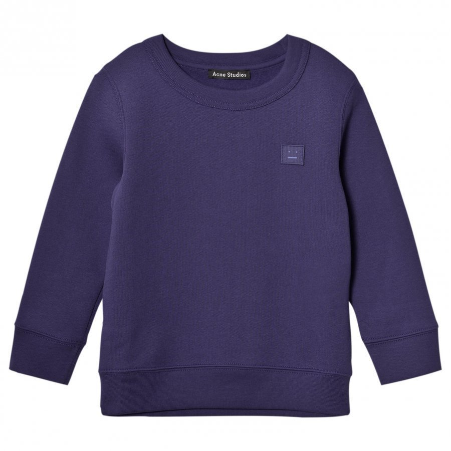 Acne Studios Mini Fairview Sweater Royal Blue Oloasun Paita