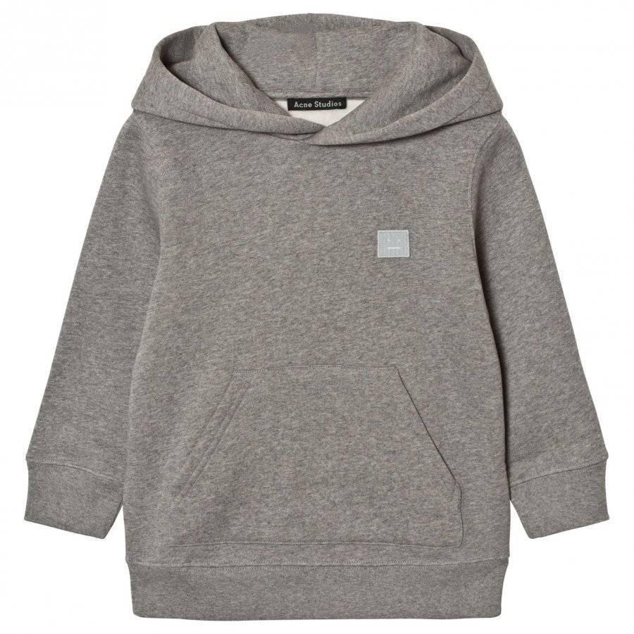 Acne Studios Mini Ferris Face Sweatshirt Gray Huppari