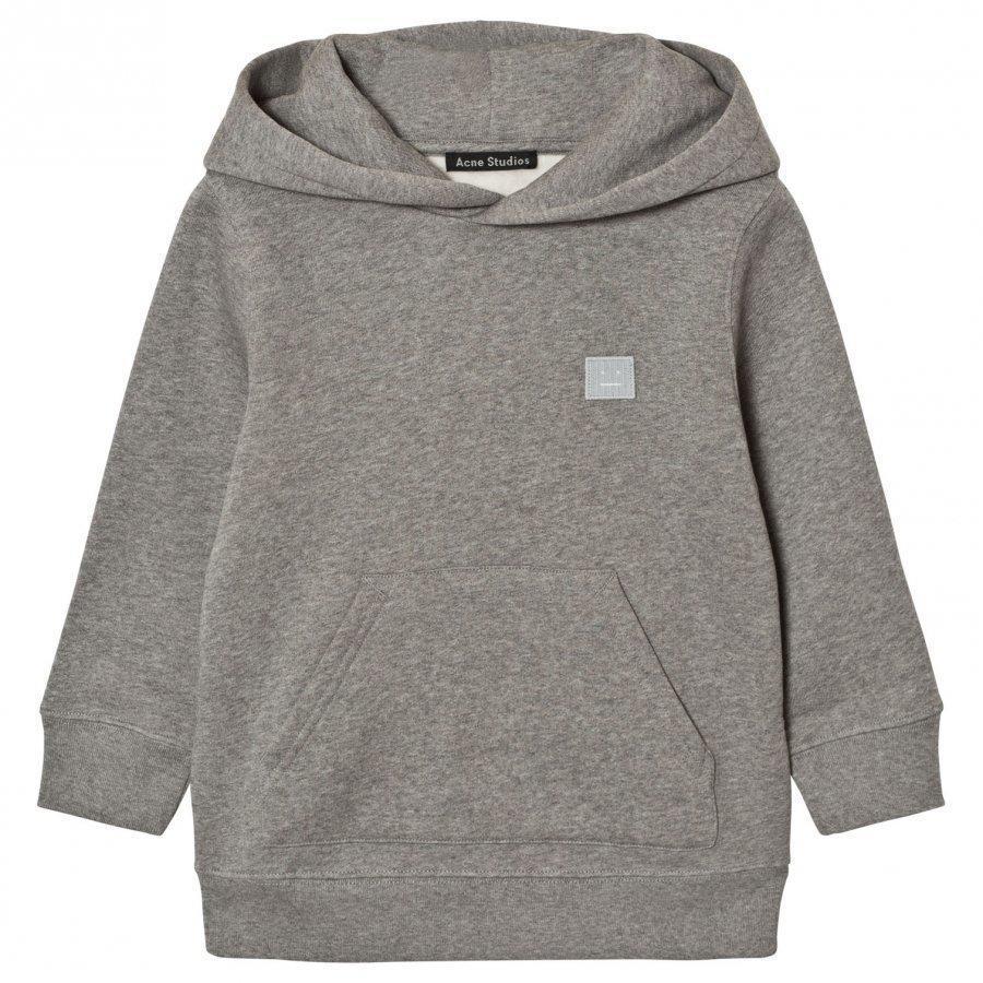 Acne Studios Mini Ferris Face Sweatshirt Gray Huppari