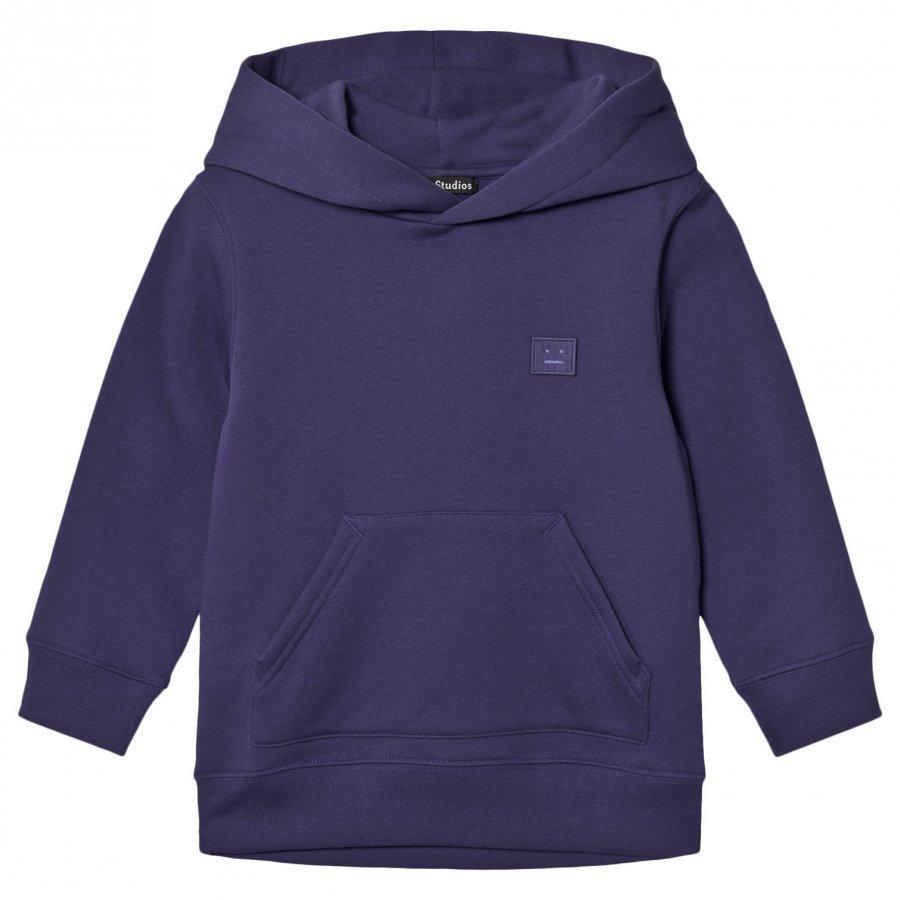 Acne Studios Mini Ferris Hooded Sweatshirt Royal Blue Huppari
