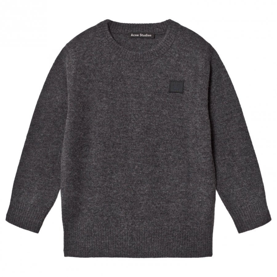Acne Studios Mini Nalon Sweater Charcoal Melange Paita