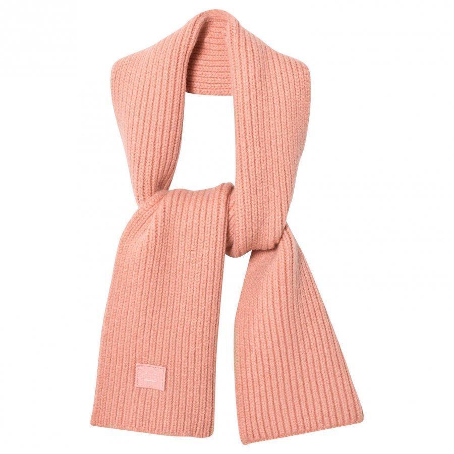 Acne Studios Wool Mini Bansy Scarf Pale Pink Villahuivi