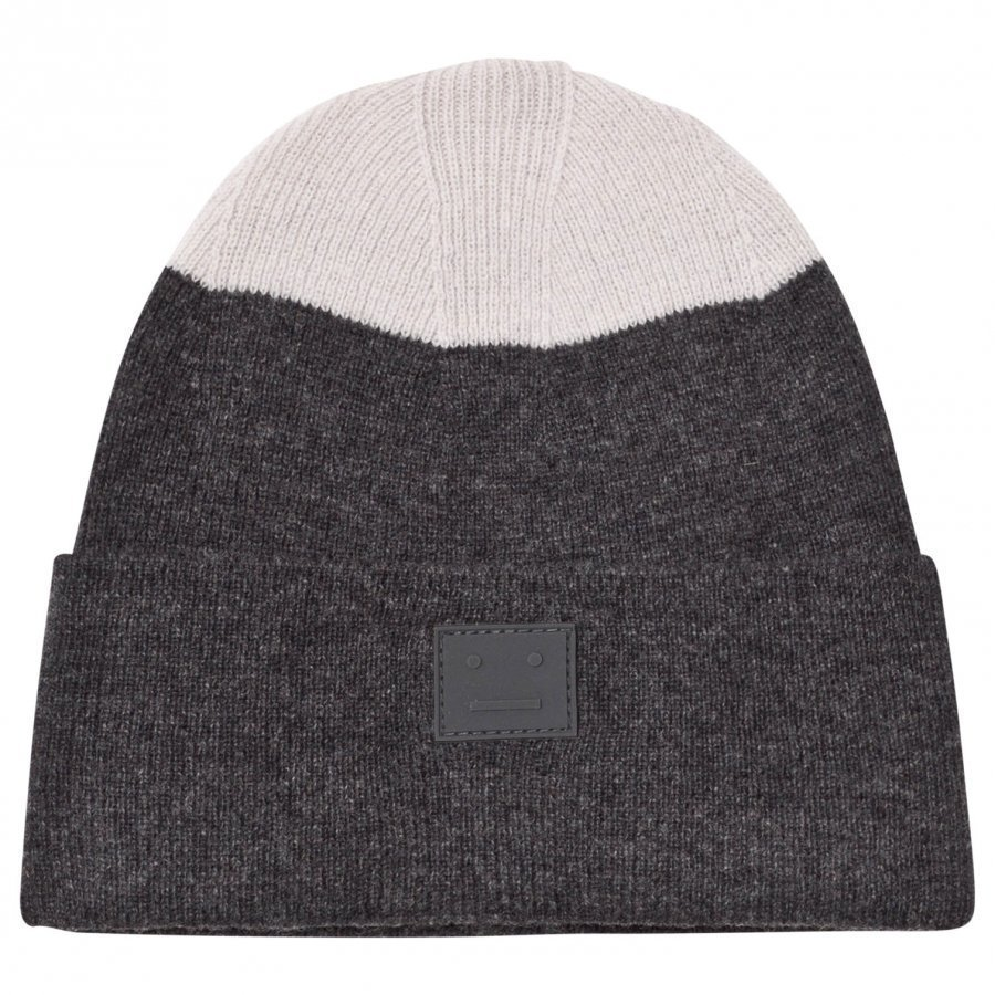 Acne Studios Wool Mini Kosta Hat Charcoal Melange Pipo
