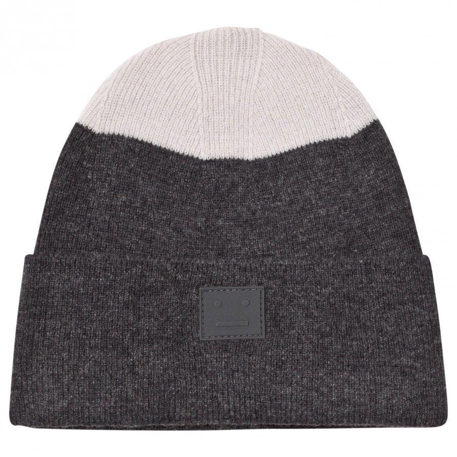 Acne Studios Wool Mini Kosta Hat Charcoal Melange Pipo
