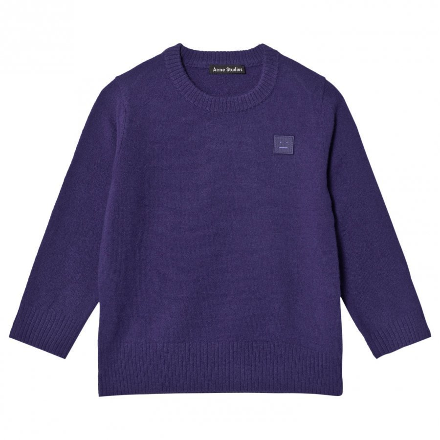 Acne Studios Wool Mini Nalon Sweater Royal Blue Paita