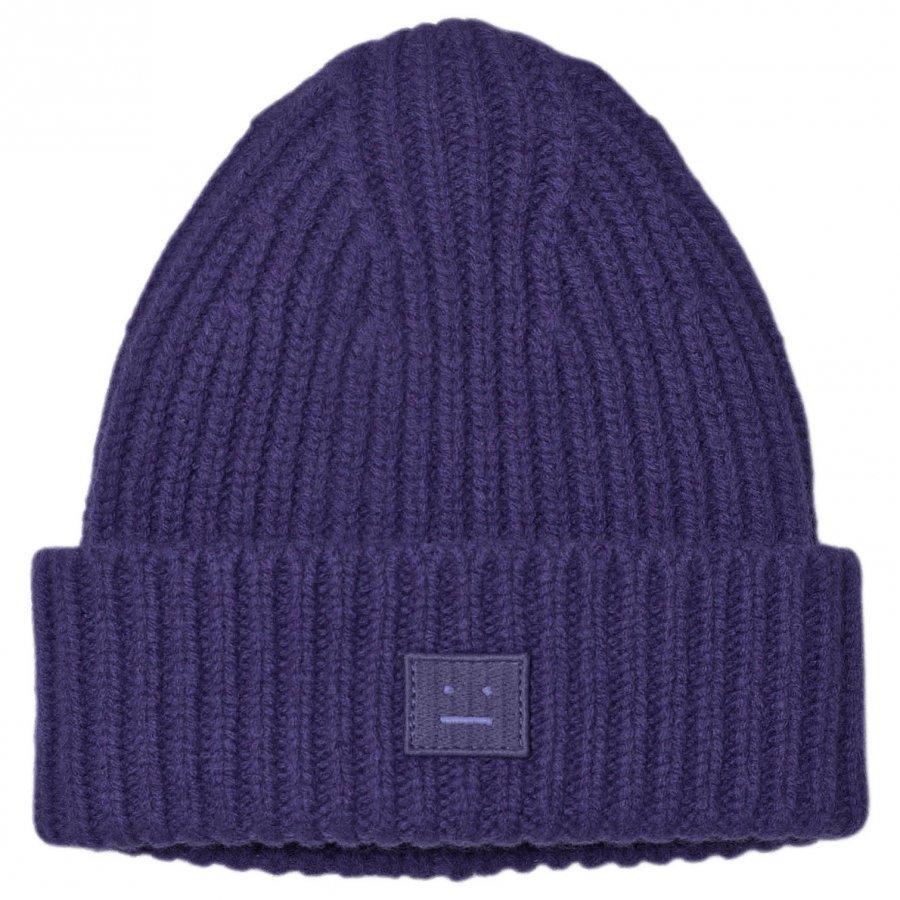 Acne Studios Wool Mini Pansy Hat Royal Blue Pipo