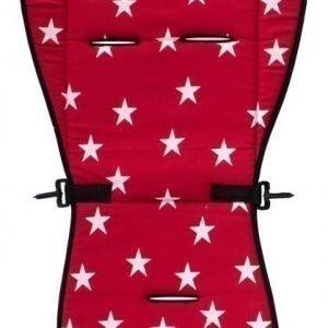 AddBaby Istuinpehmuste Stars Red