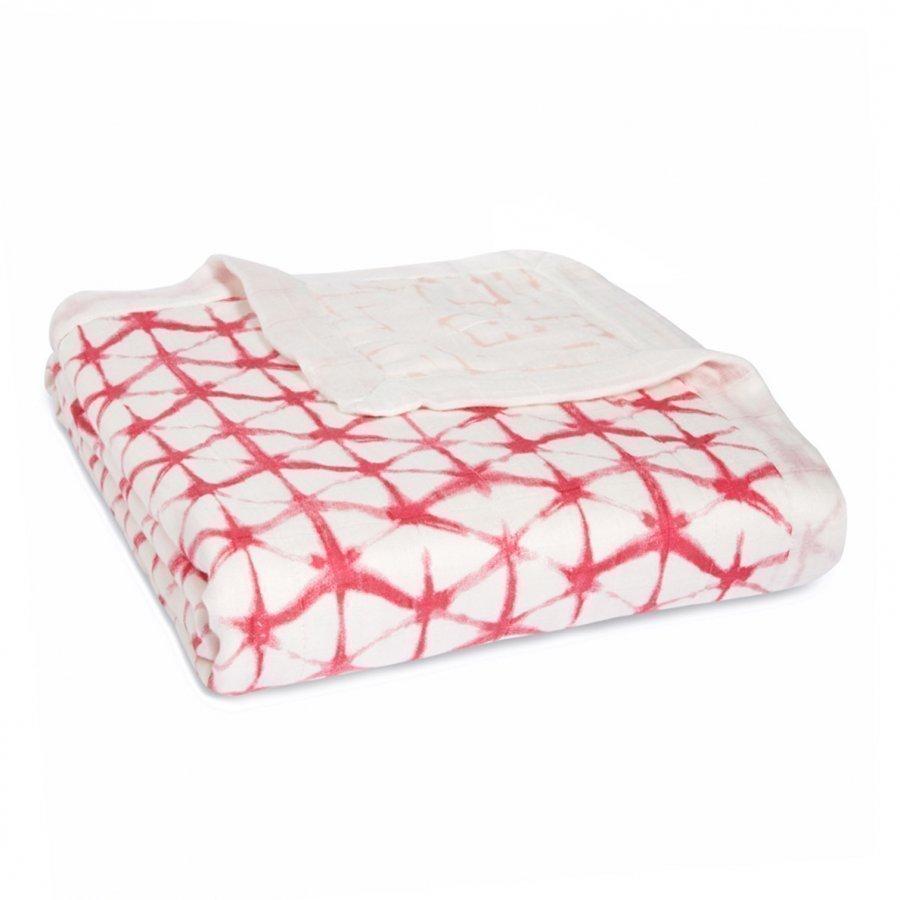 Aden + Anais Berry Shibori Silky Soft Dream Blanket Viltti