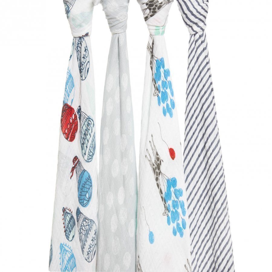 Aden + Anais Dream Ride Swaddles 4 Pack Huopa