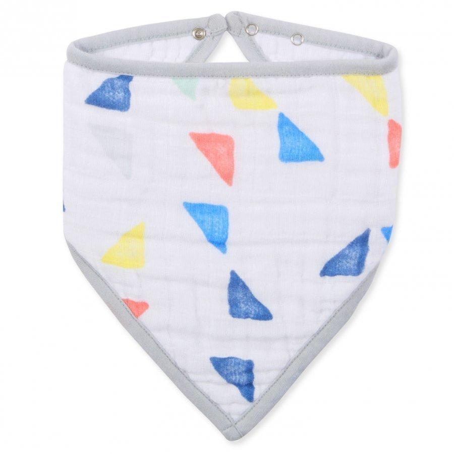Aden + Anais Triangles Classic Bandana Bib Ruokalappu