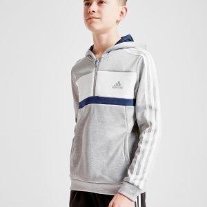Adidas 1/2 Zip Hoodie Harmaa